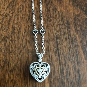 Beautiful Filigree Heart Pendant